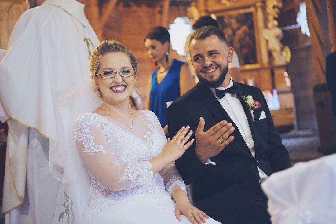 Ślub Olesno Natalia Artur Kościół św Anny 2